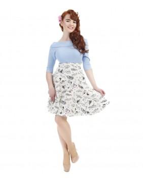 Collectif Tammy 50's Car Skirt