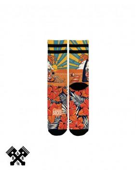 American Socks Summer Paradise Mid-High, detail