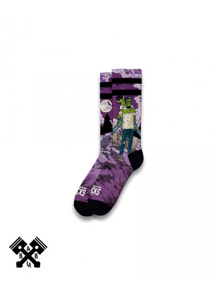 American Socks Calcetines Frankenstein Medio-Alto