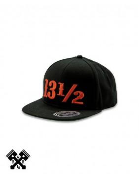 13 1/2 Logo Black Cap