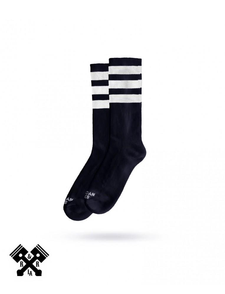 American Socks Calcetines Back in Black II Medio-Alto