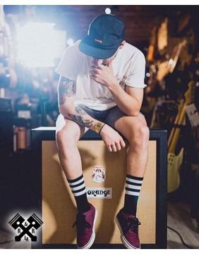 American Socks Calcetines Back in Black II Medio-Altom, chico ejemplo