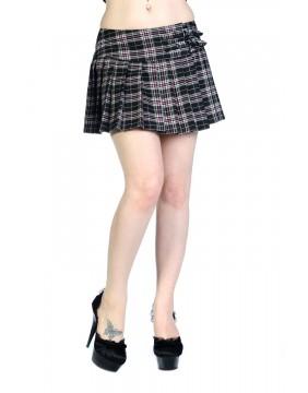 Banned Black Pink Mini Skirt