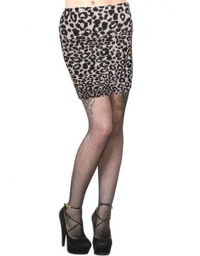 Banned Leopard Mini Skirt