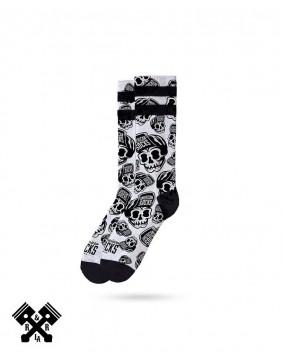 American Socks Skater Skull Mid-High, other view