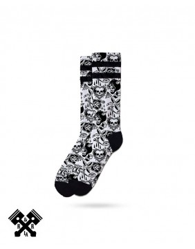 American Socks Tooth N Nail Mid-High, other view