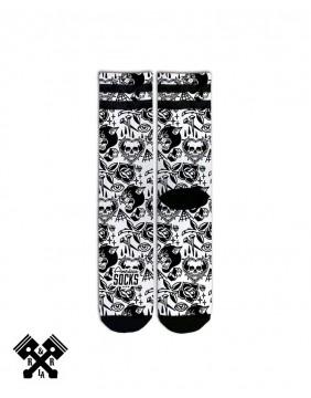 American Socks Calcetines Tooth N Nail Medio-Alto