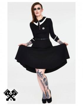 Dark Sacrament Dress from voodoo vixen and acid doll, flare skirt