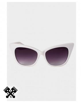 Voodoo Vixen Gafas Blancas Retro Jennifer principal