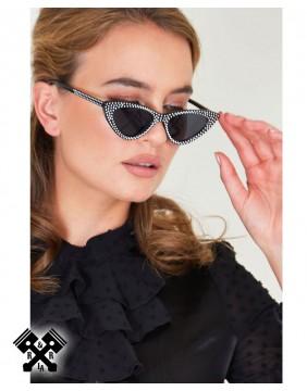 Voodoo Vixen Dolly Sparkle Sunglasses