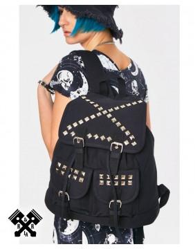 Studs 'N' Stuff Backpack, model rear view