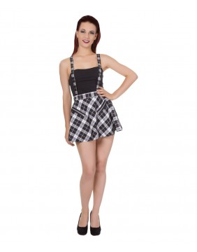 Banned Highlife Pinafore Mini Skirt