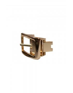 Cinturón Martha Negro, marca Collectif para mujer, hebilla