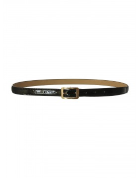 Collectif Martha Black Belt for woman