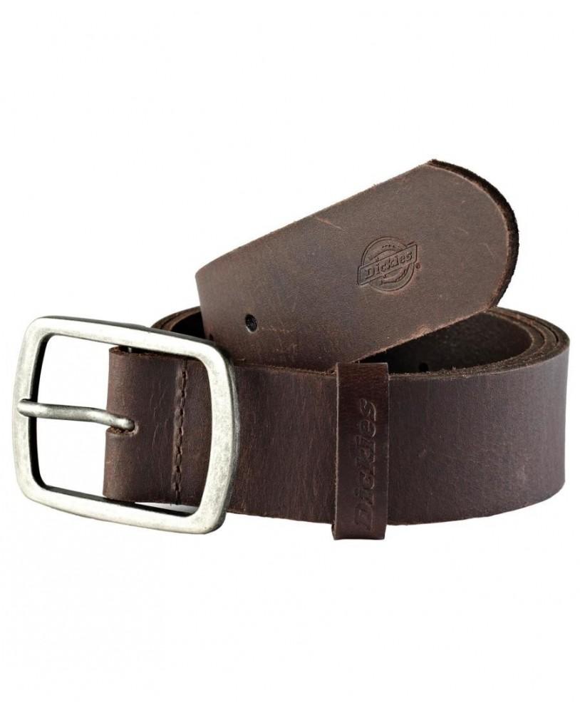Cinturon Eagle Lake Marron Oscuro, marca Dickies para hombre