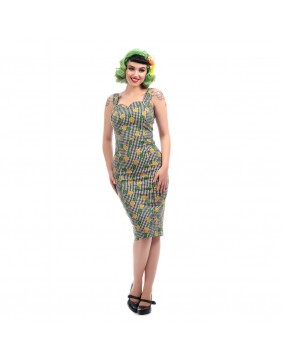 Collectif Anita Ginham Pineapple Dress