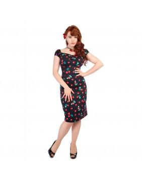 Collectif Vestido 50's Cerezas