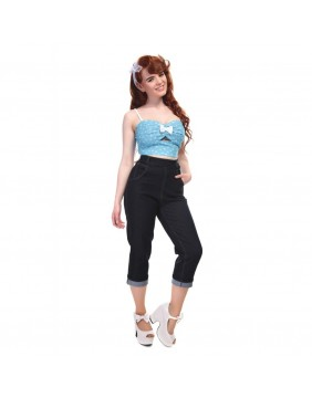 Collectif Coco Denim Capri