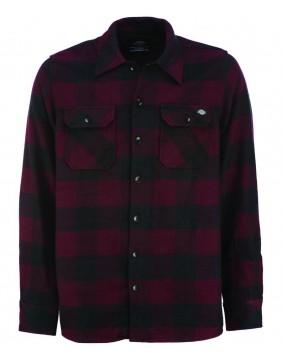 Dickies Camisa Sacramento Granate