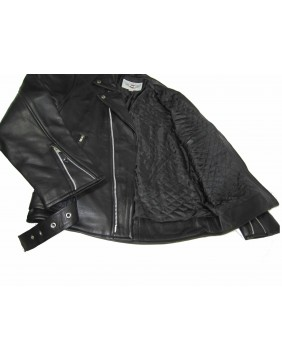 """chaqueta de cuero motera para hombre """"Perfecto"""" interior"""