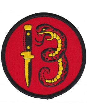 Sourpuss Snake 13 Patch