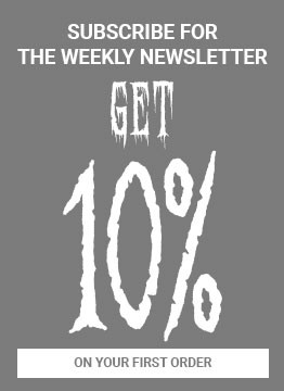Subscribe for the weekly newsletter and get a 10% on your first order